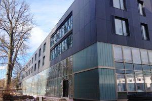 Außenansicht der Technischen Hochschule in Ingolstadt