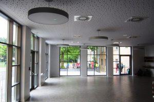 Innenansicht der Bärenkeller Schule in Augsburg