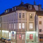 Außenansicht Hotel Rennbahn in Neuburg