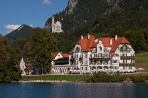 Das Hotel Alpenrose - Außenansicht