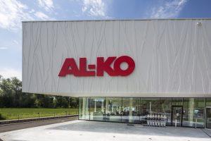 Frontansicht des AL-KO Servicezentrum in Kötz