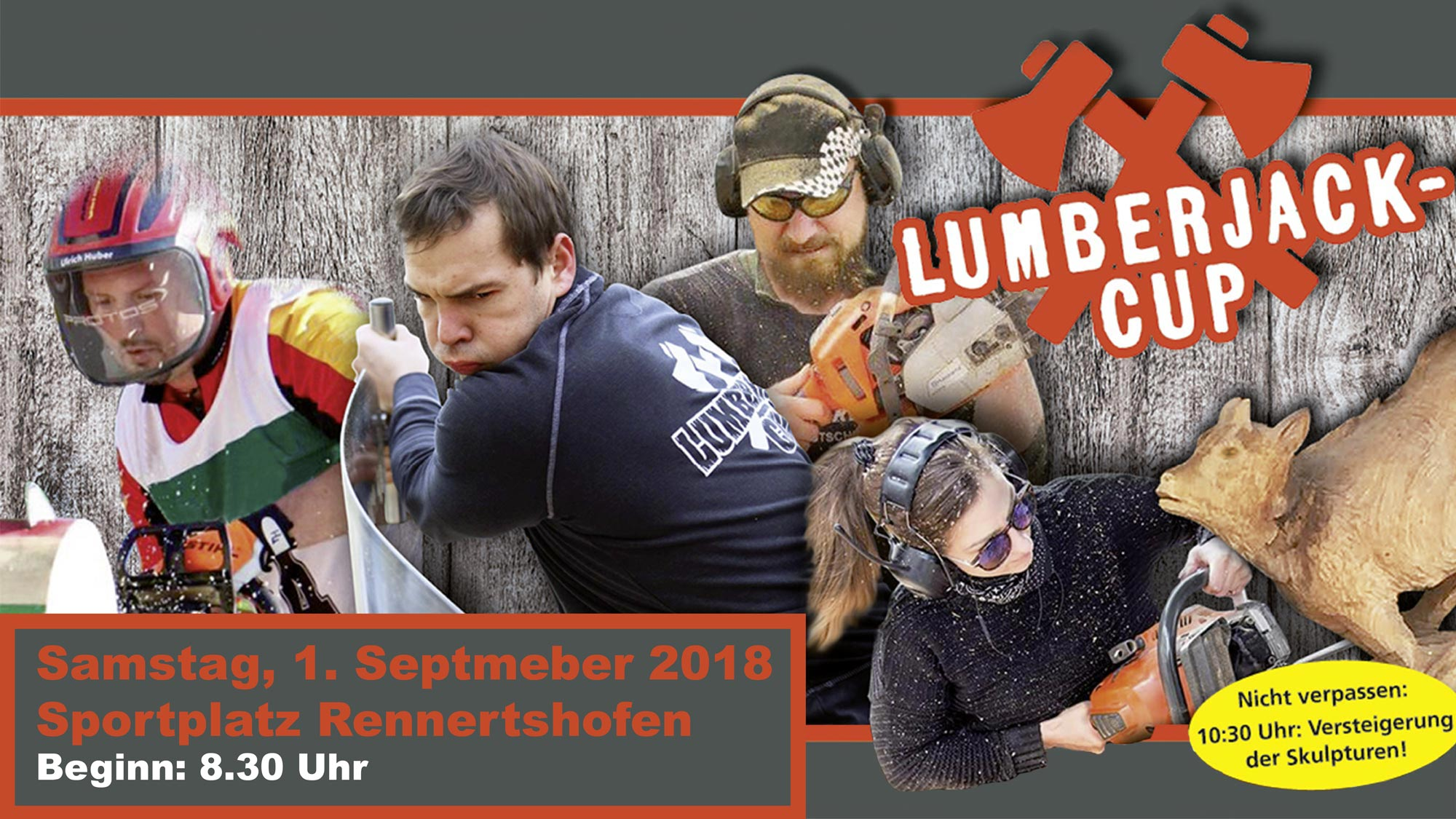 Kettlitz Lumberjack Cup am 1. September