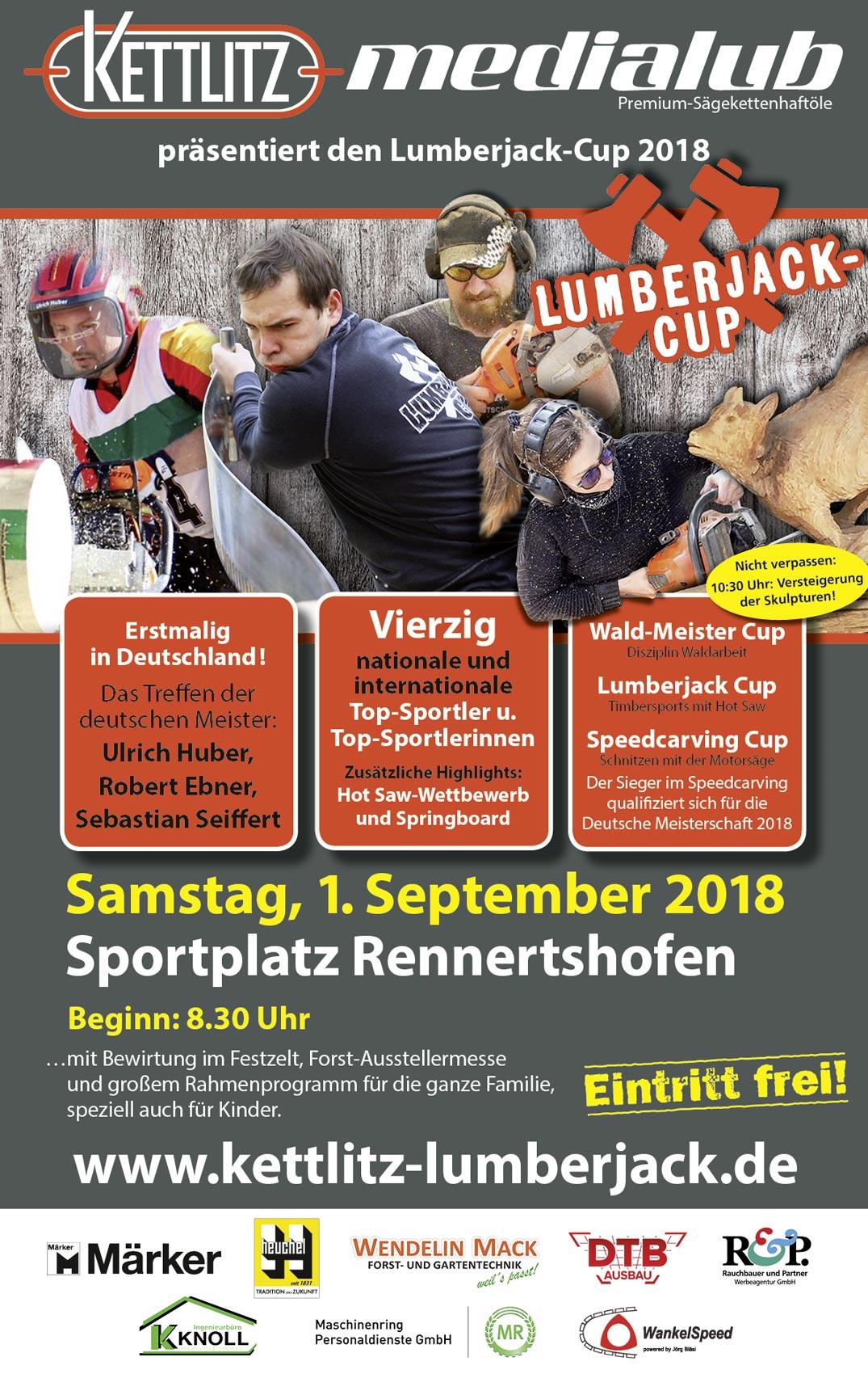 Lumberjack Cup in Rennertshofen