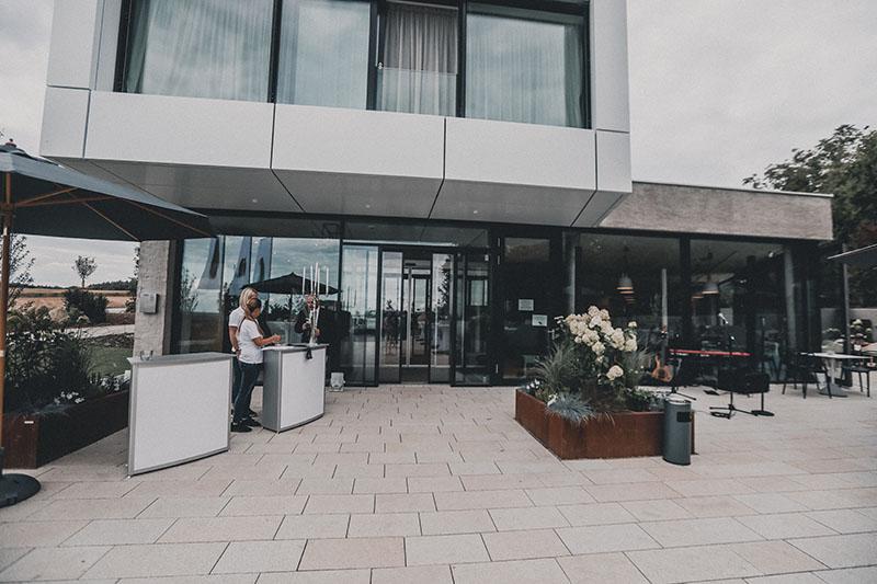Hotel Das Acker in Neuburg - DTB Ausbau aus Rennertshofen trug zu diesem tollen Bauwerk die Trocken und Innenausbau arbeiten bei.