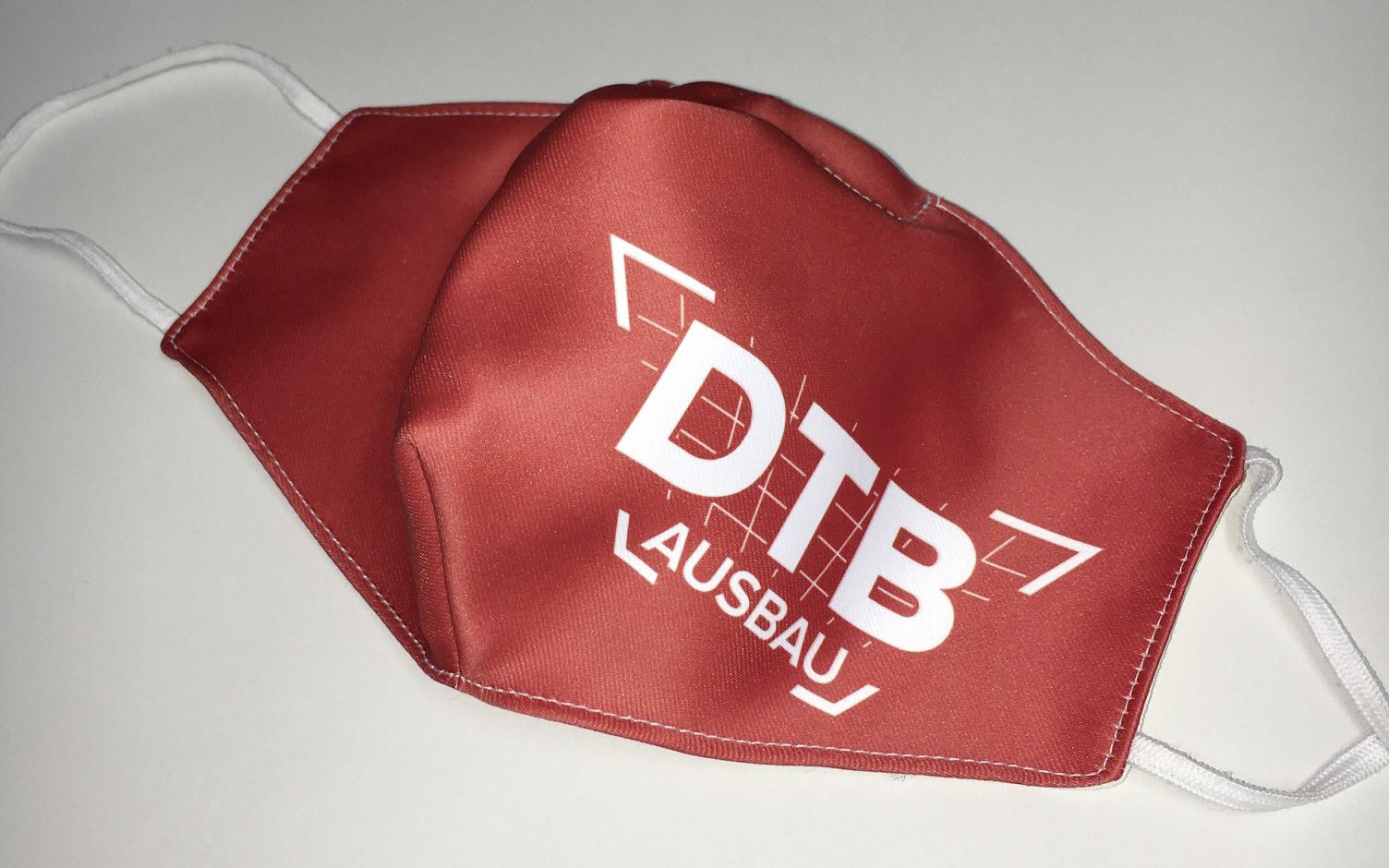 MNS-Masken mit dem DTB-Logo